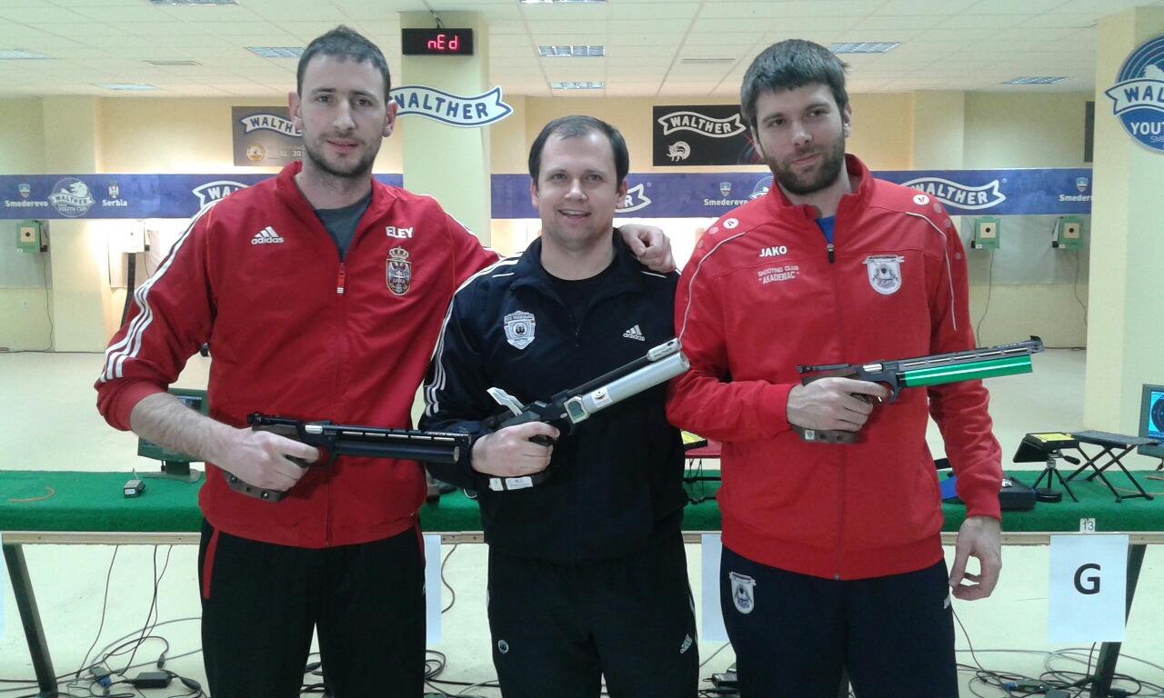 Petrov, Mikec, Grgić Foto:SSS