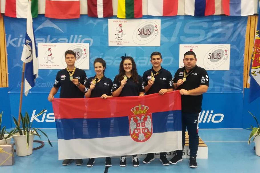 Đorđe Savić, Marija Zavišić, Marija Kolarević, Veljko Ilić Foto:SSS