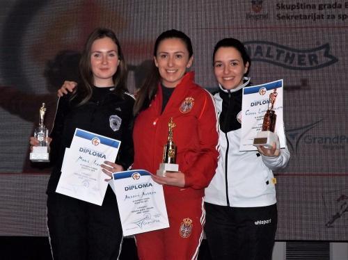 Puska zene Velika nagrada Beograda