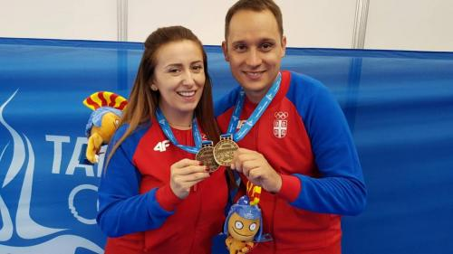 Andrea Arsović i Milutin Stefanović Foto:SSS
