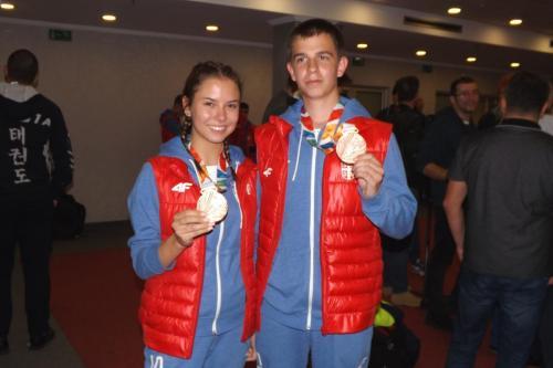 Marija Malić i Aleksa Mitrović