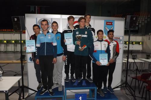 Kadeti ekipno: Srbija 4 srebro, Srbija 2 bronza