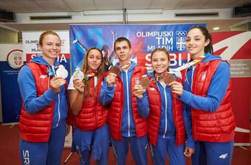 Osvajači medalja  Foto: OKS